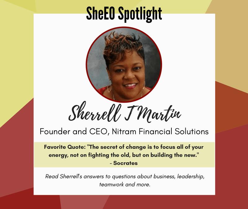 SheEO Spotlight – Sherrell T. Martin