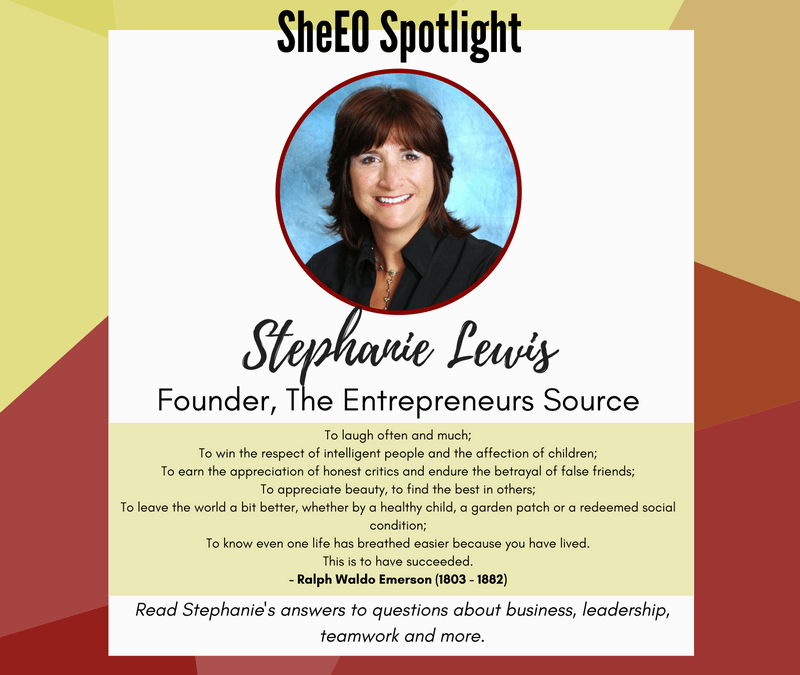 SheEO Spotlight – Stephanie Lewis