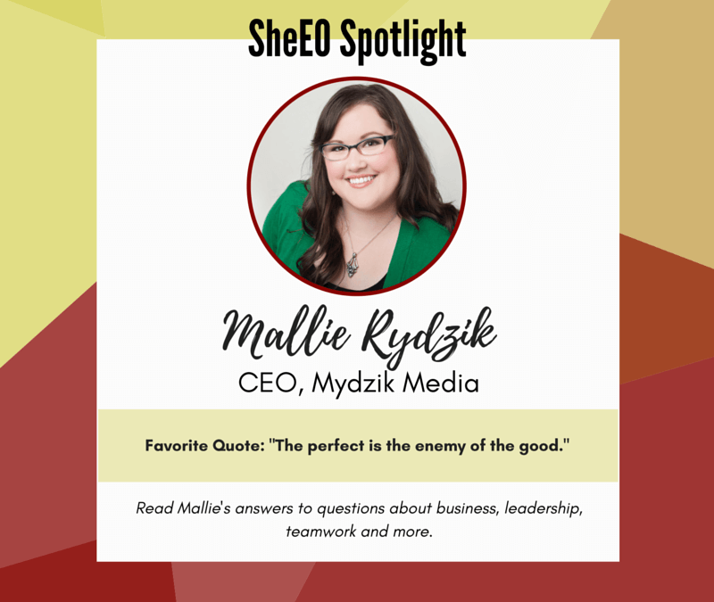 SheEO Spotlight – Mallie Rydzik