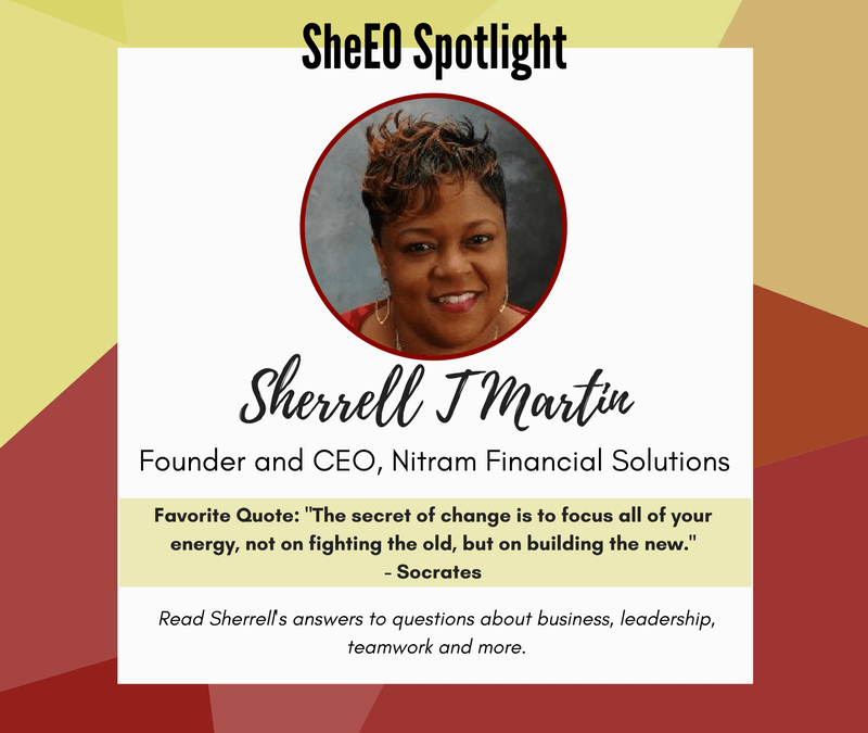 SheEO Spotlight – Sherrell T. Martin